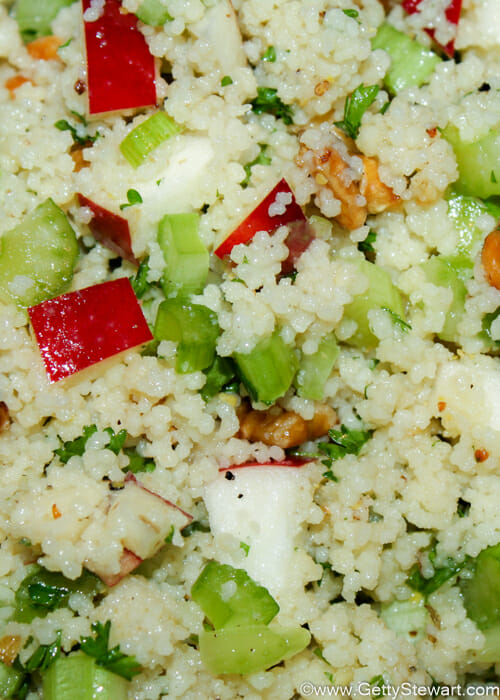 apple couscous salad