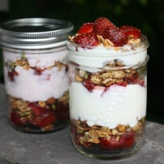 Strawberry Parfait to Go
