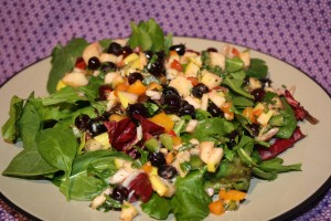 saskatoon salsa salad