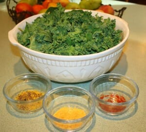How to Make Kale Chips in the Dehydrator – Three Ways
