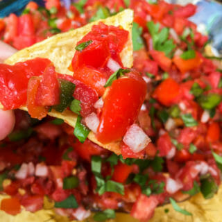 Fresh Tomato Salsa or Pico de Gallo