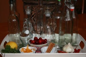 Gifts from the Kitchen – Infused Vinegar