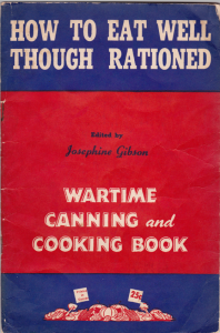 Josephine Gibson, 1943 Vital Publications
