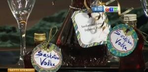 infused saskatoon vodka