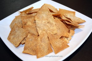 Getty Stewart Garlic & Rosemary Pita Crisps