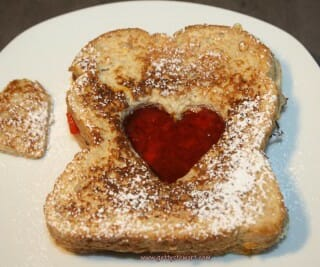 How to Make Red Heart French Toast