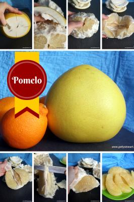 How to Peel a Honey Pomelo