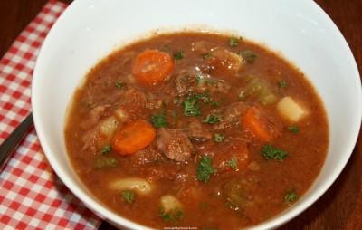 crockpot bison stew