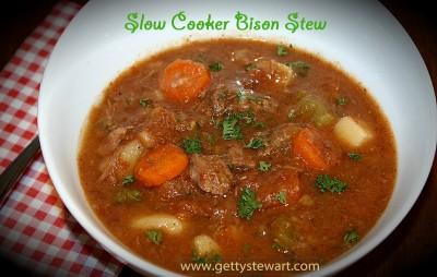 crockpot bison stew name