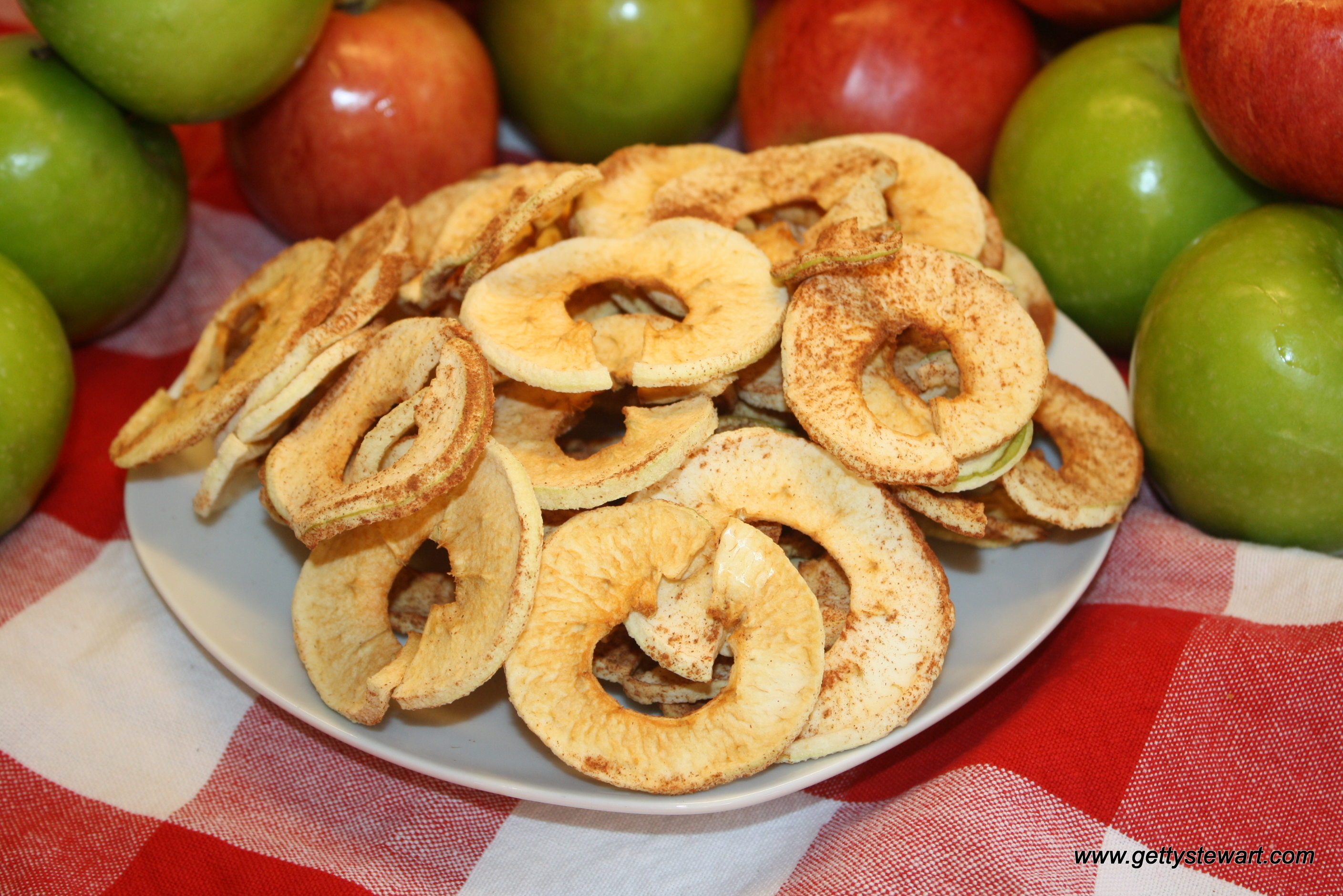 apple crispy apple rings crispy almond apple rings apple rings with ...