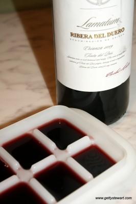 freezing wine