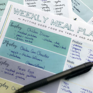 How to Meal Plan to Save Money and Eat Healthy