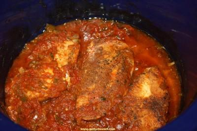 easy taco chicken