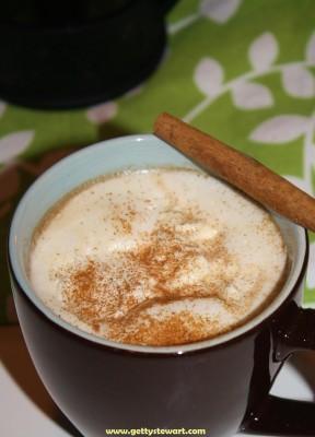 latte spiced pumpkin
