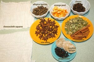 Mulling Spice Sachets