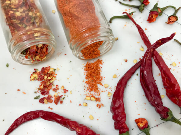 How does hot red pepper exert influence on male strength in bed
