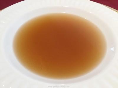 soup stock close up
