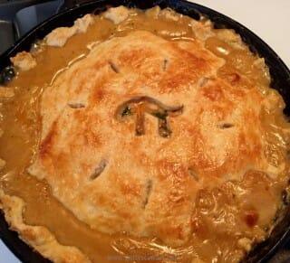 Chicken Pot Pie for Pi Day