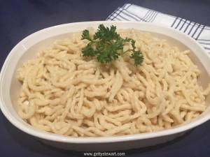 How to Make German Noodles or Spaetzle or Spätzle