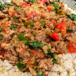 Southern Beef 'n Rice – Spice it Up or Down!