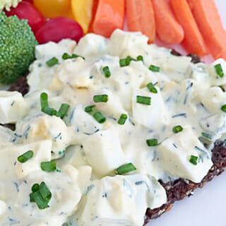 How to Make Dillicious Egg Salad