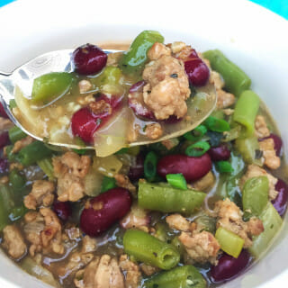 Pork and Green Bean Chili