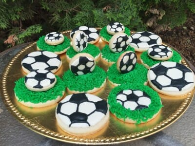 How To Decorate Soccer Cookies Getty Stewart Unique Decorate Your Own Soccer Ball