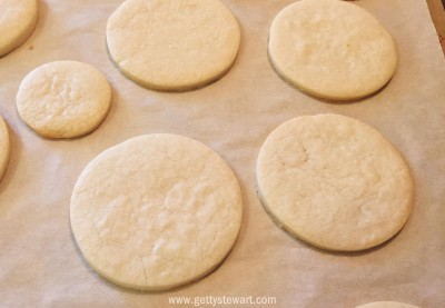 sugar cookie for decorating - watermarked