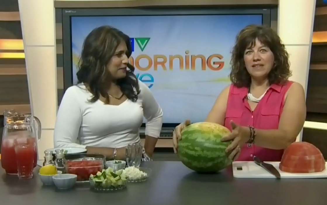 Watermelon Recipes as seen on CTV Morning Live