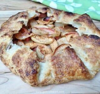 Apple Galette – An Easy Rustic Apple Pie