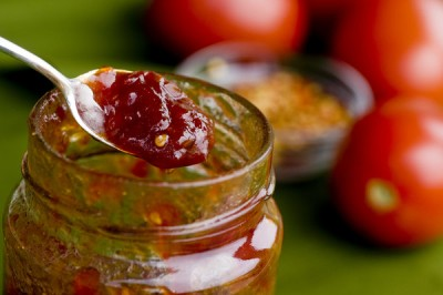 Tomato Jam by Mark Bittman, Photo by Evan Sung for NY Times