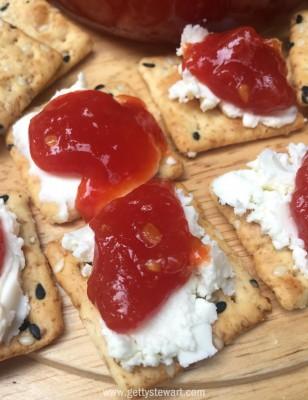 tomato jam crackers l - watermarked