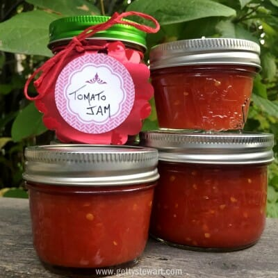 tomato jam - watermarked