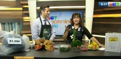 Food waste on CTV