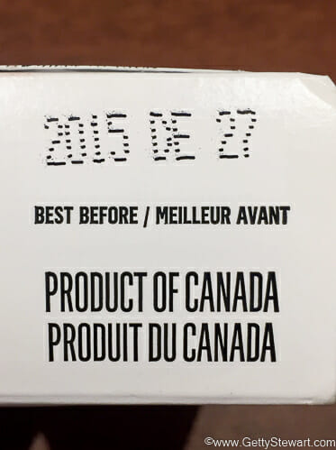 Best Before Dates Canada
