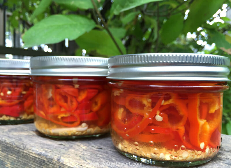 How to make homemade hot pepper rings pickled peppers - How to can banana peppers from your garden ...