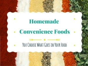 homemade convenience