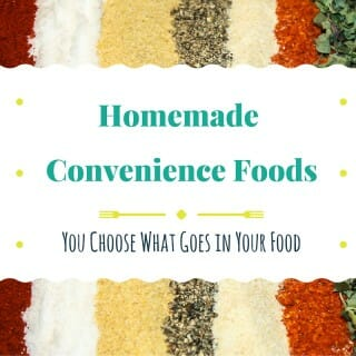 Homemade Convenience Foods