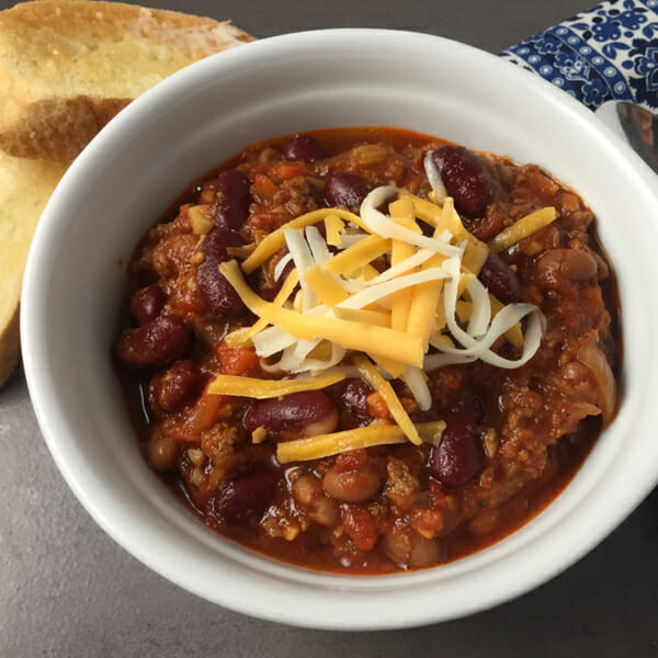 Classic Beef And Bean Chili Or Chili Con Carne Getty Stewart