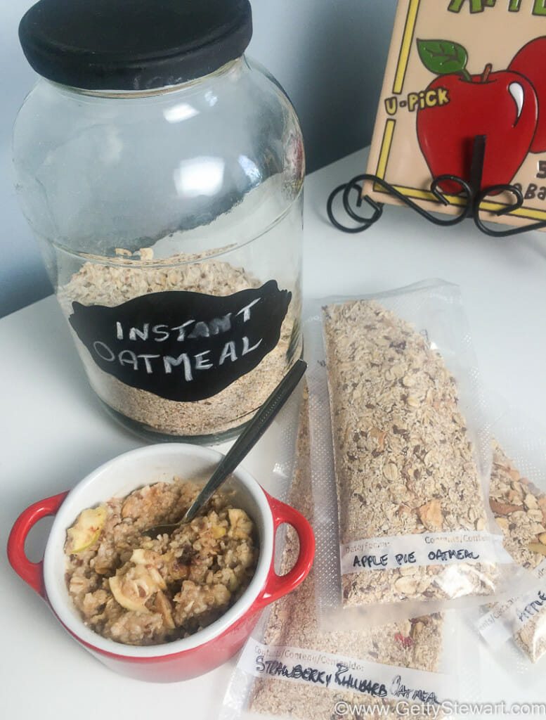 homemade oatmeal instant