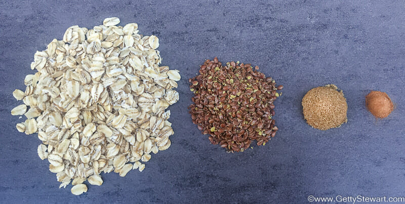 instant oatmeal ingredients