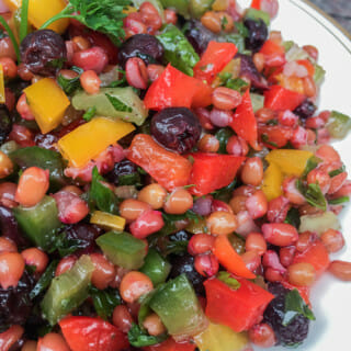 Saskatoon Wheatberry Salad