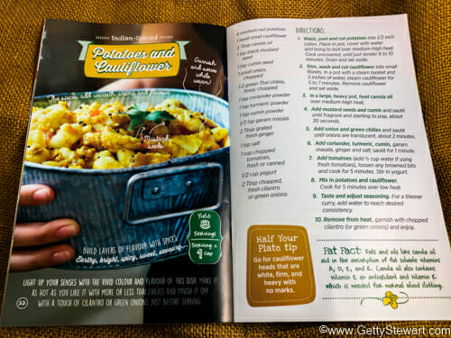 potato cauliflower curry recipe