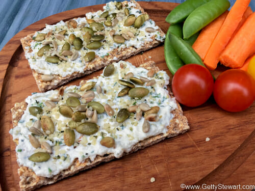 ricotta herb spread lunch