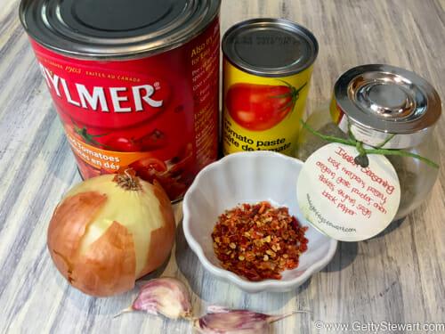 tomato sauce ingredients