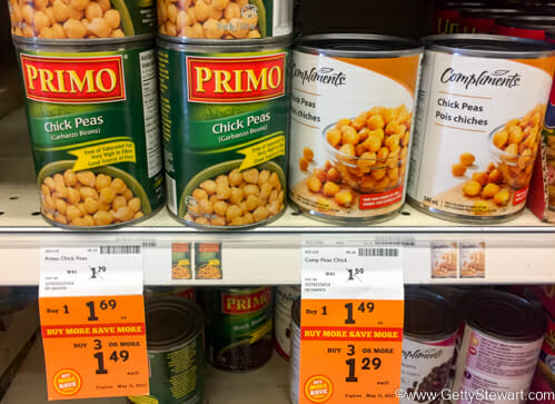 chickpeas buying multiples