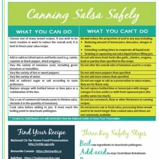 How to Can Salsa Safely – Hot Water Bath Canning