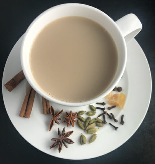 how to make your own chai latte powder